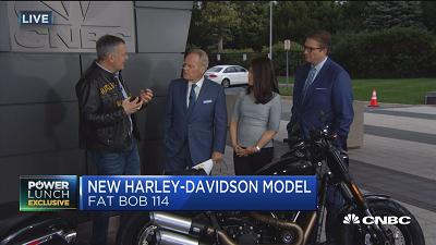 Harley-Davidson unveils new bike models
