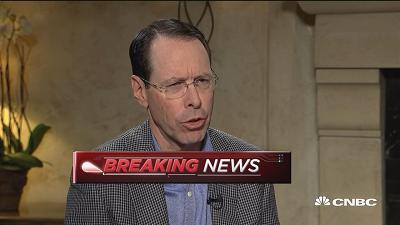 AT&T CEO: Market correction did not have a whole lot of i...