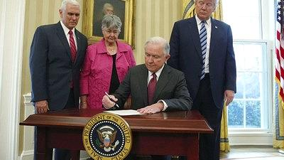 The real reason Jeff Sessions is putting up with Trump's ...