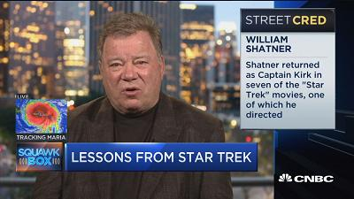 William Shatner's return to space is a thriller
