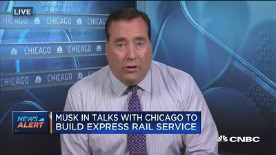 Elon Musk in talks with Chicago to build express rail ser...