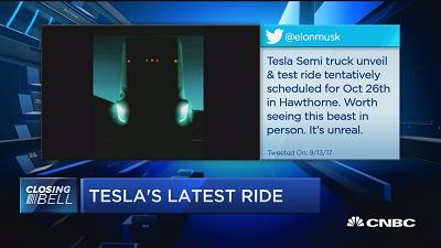 Can Tesla compete in the trucking industry?