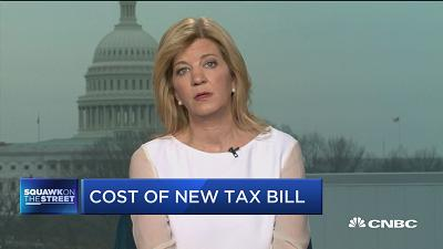 CFRB President: Tax bill will cost over $2 trillion over ...