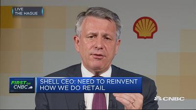 Shell CEO gives projections for oil price