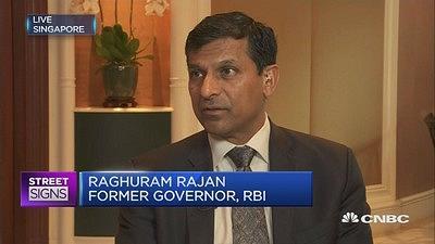 China 'playing the falling odds': Rajan