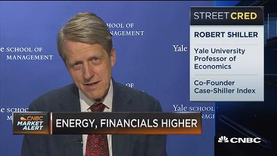 Robert Shiller urges caution on the market: 'We're at a high level, and it's concerning'