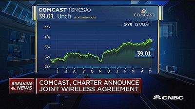 Comcast and Charter announce joint wireless agreement