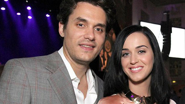 Katy Perry and John Mayer at The Friar's FoundationGala