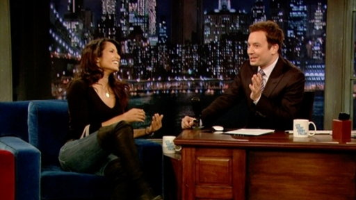 'Late Night With Jimmy Fallon': Padma Lakshmi, Part 1
