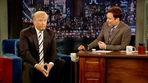 'Late Night With Jimmy Fallon': Donald Trump, Part 1