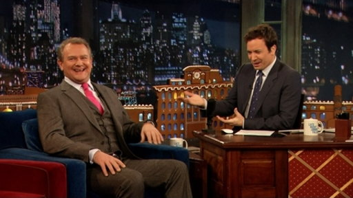 'Late Night With Jimmy Fallon': Hugh Bonneville