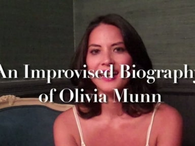 'Late Night With Jimmy Fallon': Olivia Munn Improvised Biography
