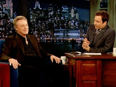 'Late Night With Jimmy Fallon': Christopher Walken, Part 3