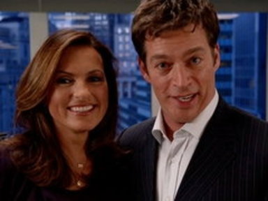 'Law & Order SVU': Mariska and Harry Say Hello