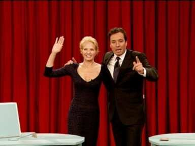 'Late Night With Jimmy Fallon': Pyramid With Ellen Barkin, Part 2