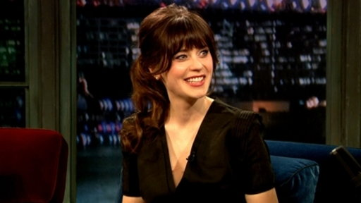 'Late Night With Jimmy Fallon': Zooey Deschanel, Part 1
