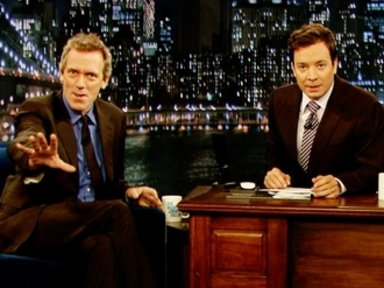 'Late Night With Jimmy Fallon': Hugh Laurie, Part 1