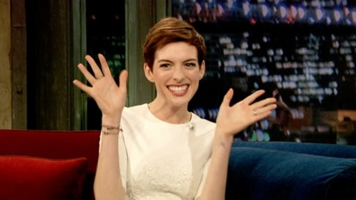 'Late Night With Jimmy Fallon': Anne Hathaway, Part 2