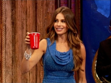 'Late Night With Jimmy Fallon': Beer Pong vs. Sofia Vergara