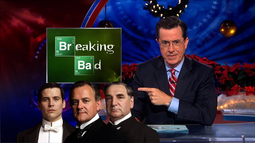 'The Colbert Report': Uncensored: Breaking Abbey