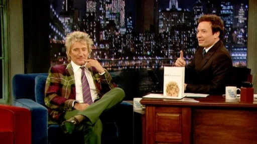 'Late Night With Jimmy Fallon': Rod Stewart, Part 1