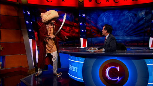 'The Colbert Report': Obama's Ottoman Empire