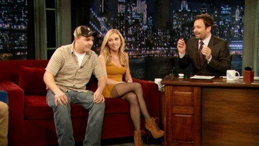 'Late Night With Jimmy Fallon': Shae Bradley and Shain Gandee