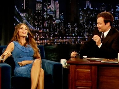 'Late Night With Jimmy Fallon': Sofia Vergara, Part 1
