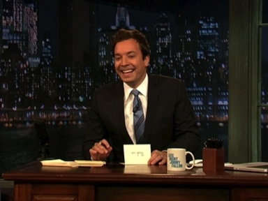 'Late Night With Jimmy Fallon': Thank You Notes