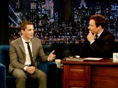 'Late Night With Jimmy Fallon': Logan Lerman