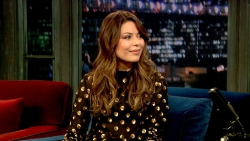 'Late Night With Jimmy Fallon': Miranda Cosgrove, Part 1