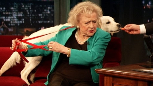 'Late Night With Jimmy Fallon': Betty White, Part 1