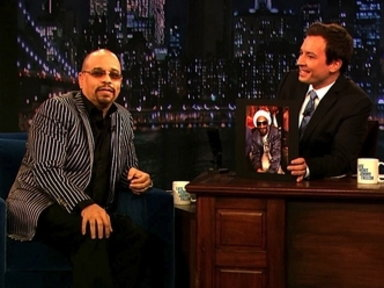 'Late Night With Jimmy Fallon': Sound Off With Ice-T