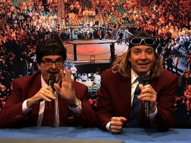 'Late Night With Jimmy Fallon': Ultimate Mustache Fighter