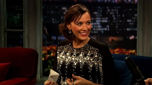'Late Night With Jimmy Fallon': Rashida Jones, Part 2
