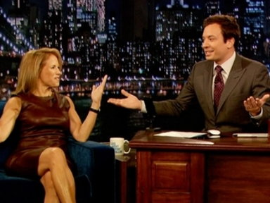 'Late Night With Jimmy Fallon': Katie Couric, Part 2