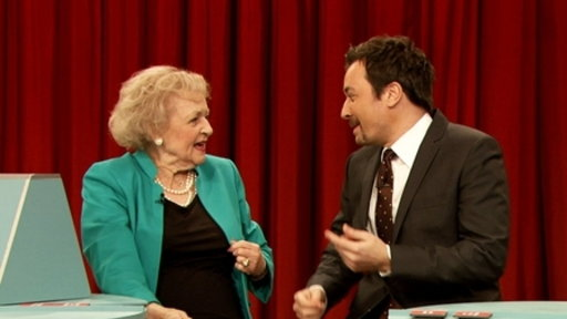 'Late Night With Jimmy Fallon': Pyramid With Betty White, Part 2