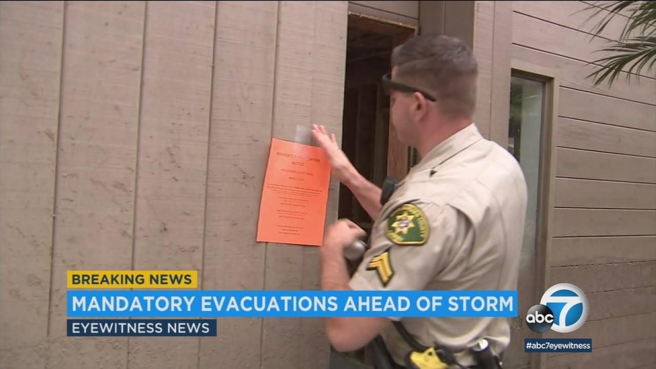 Mandatory evacuations ordered for parts of Santa Barbara County; voluntary evacuations issued in Ventura ...