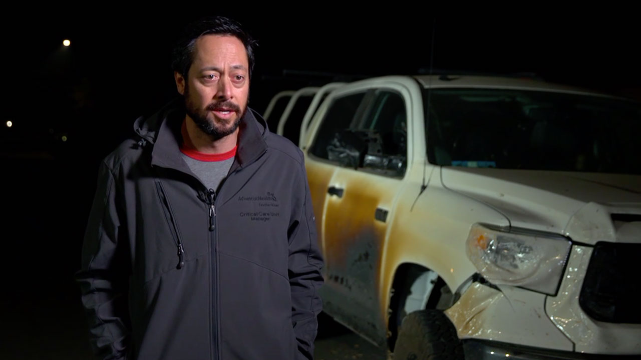 Camp Fire: After nurse burns truck saving others, Toyota tells him, ' We're honored to get you a new ...