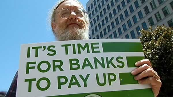 Bay Area residents in DC protest against banks