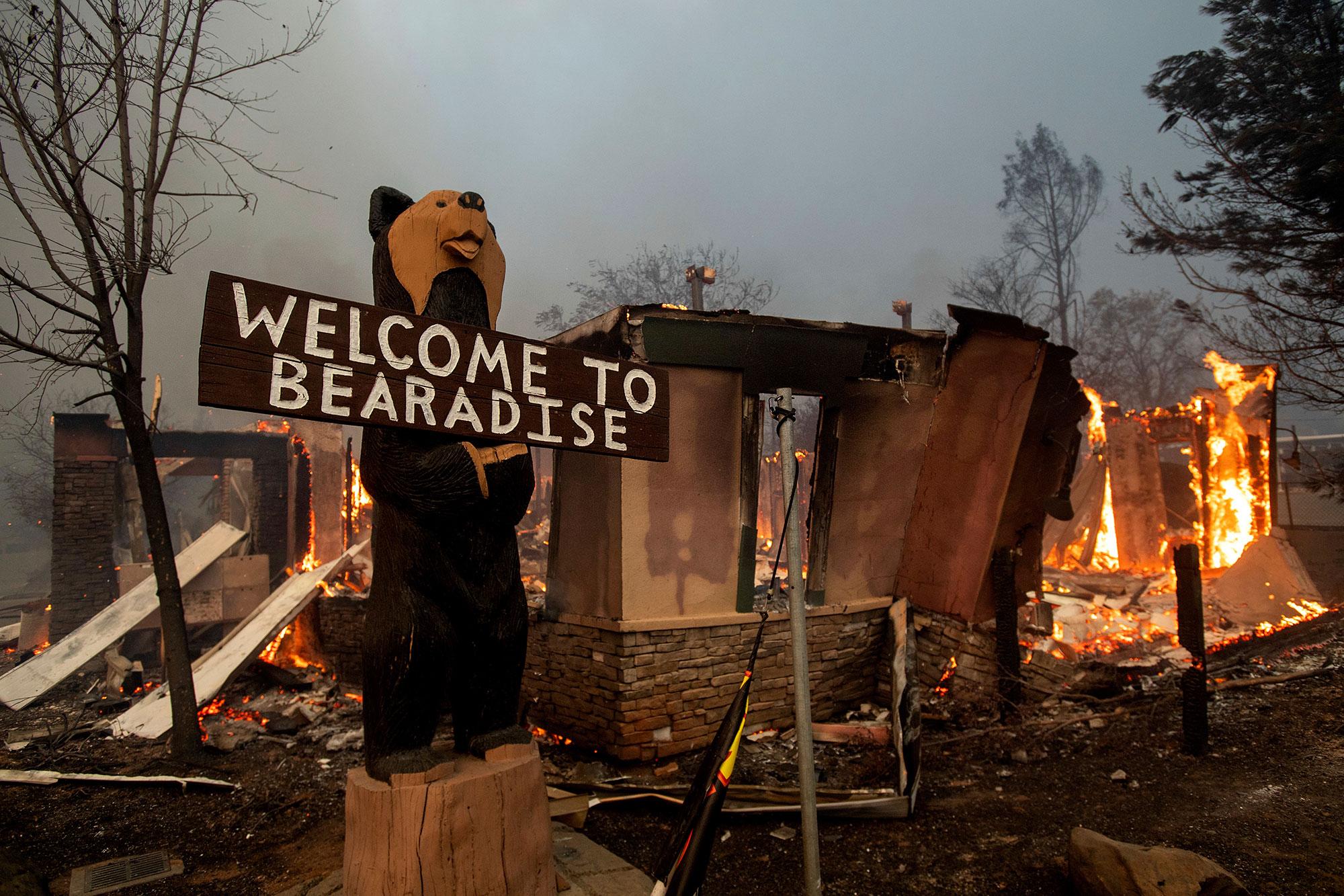 5 dead in massive Butte County wildfire