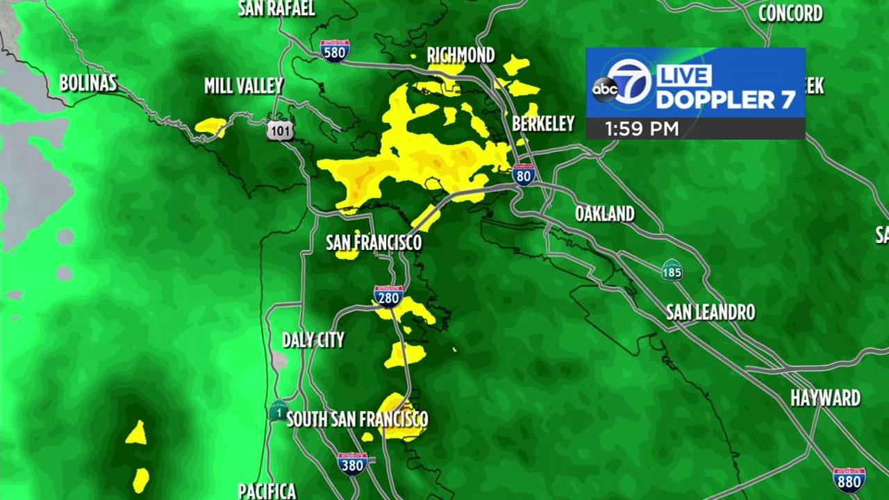 Accuweather Forecast: Rain soaking Bay Area ahead of bigger storm ...