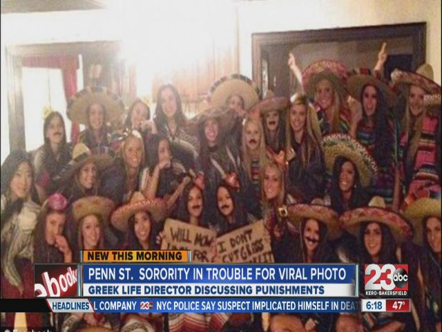 Penn State sorority girls busted for offensive photo at Mexican
