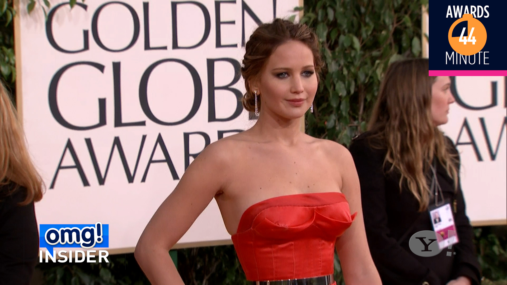 AWARDS MINUTE: Jennifer Lawrence's awards show style