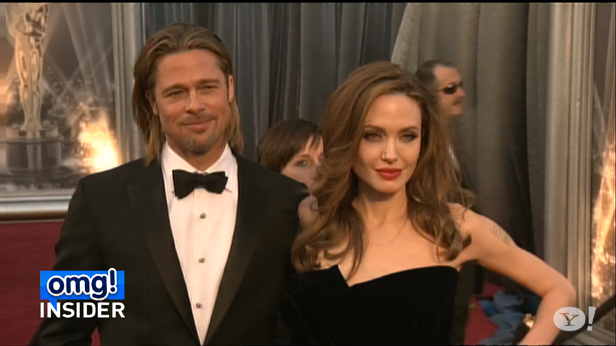 Who's Telling Brad Pitt and Angelina Jolie to Stop Kissing?