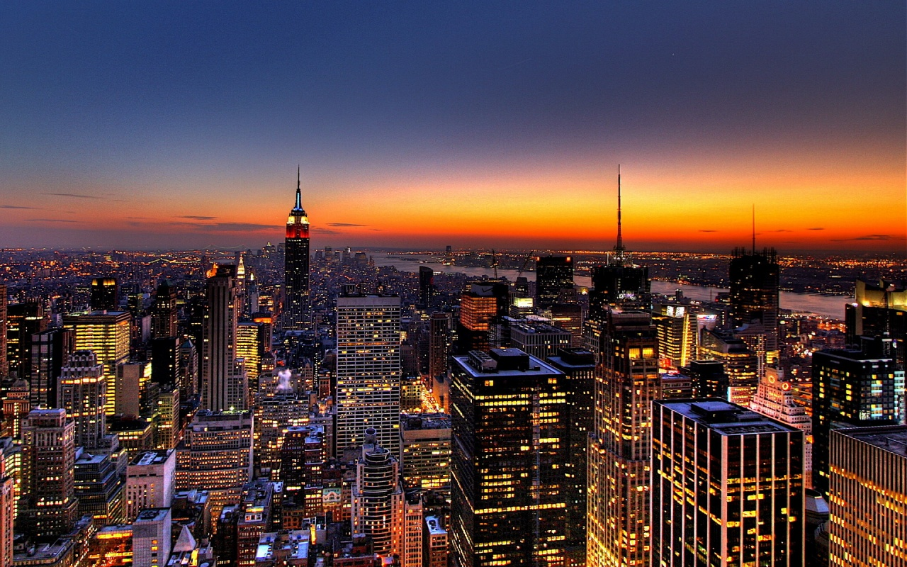 City Pictures Big cities trade happiness for