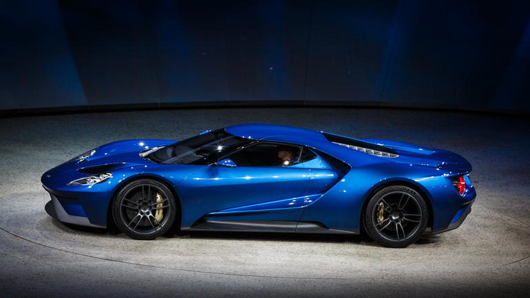 Ford Sports Cars Ford's 2016 gt Iconic Car