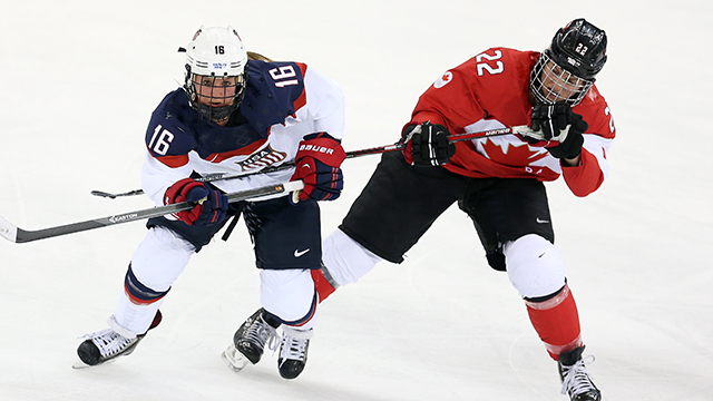 Sochi: Canada, U.S. Anxious To Add Another Golden Chapter To Best-on-best Wo Rivalry