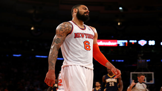 Tyson Chandler sends a message