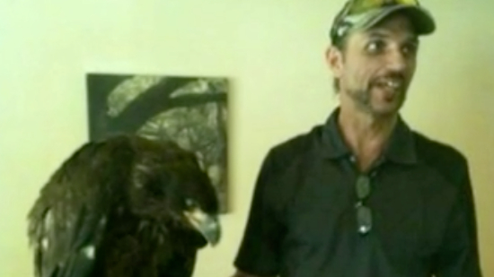 Man says bald eagle rescue prompts potential jail time